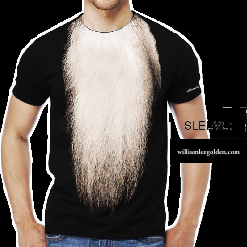 William Lee Golden Black Tee- Beard