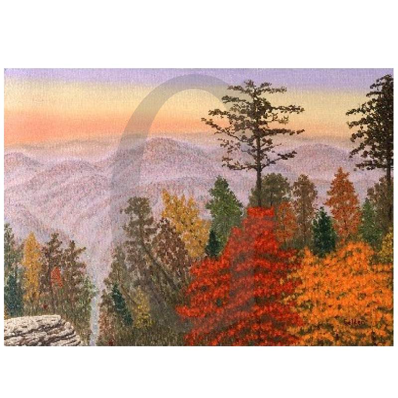 William Lee Golden Painting - Ozark Mountain Jubilee