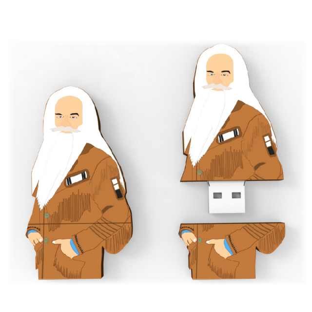 William Lee Golden USB Flash Drive