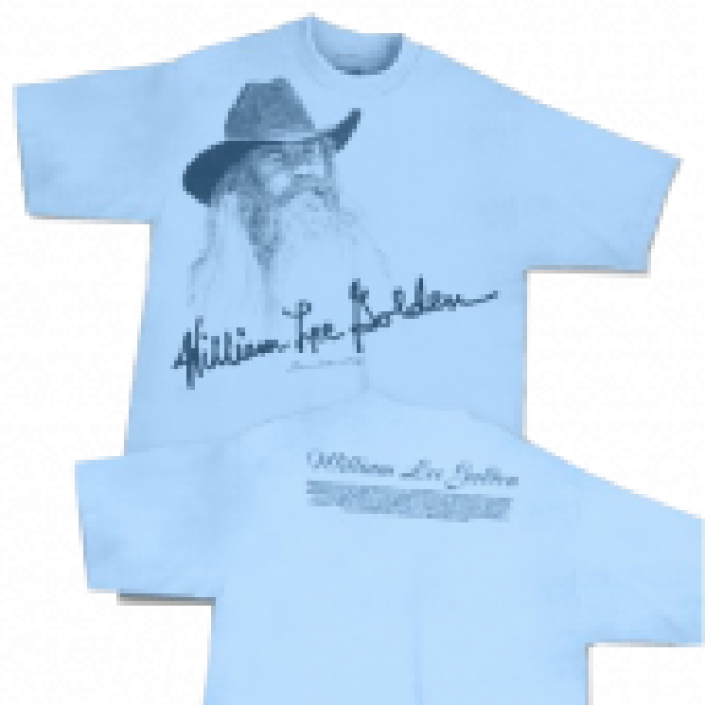 William Lee Golden Light Blue Tee