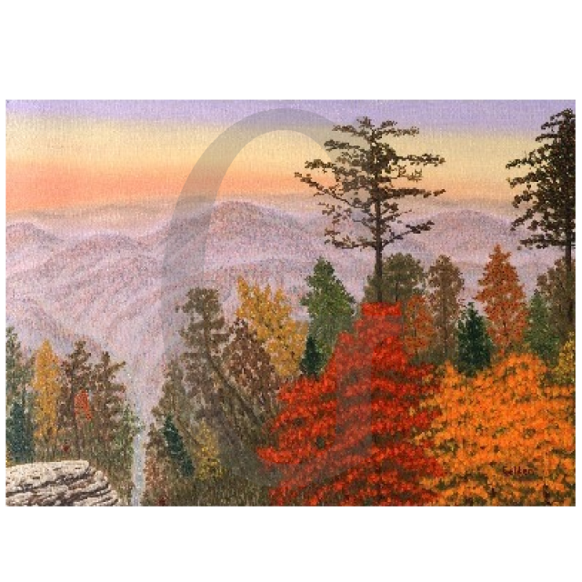 William Lee Golden Painting - Ozark Mountain Jubilee