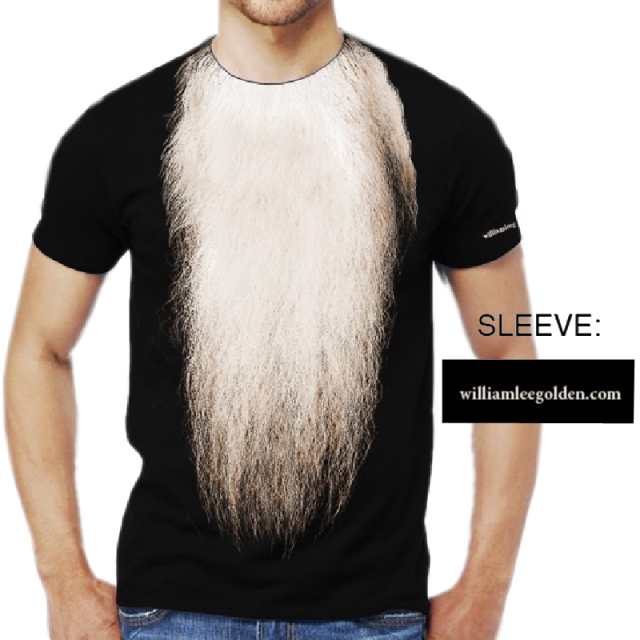 William Lee Golden Black Tee- Beard